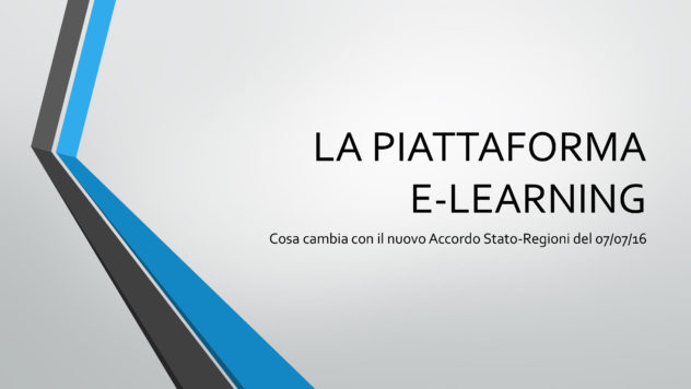 La PIattaforma E-Learning
